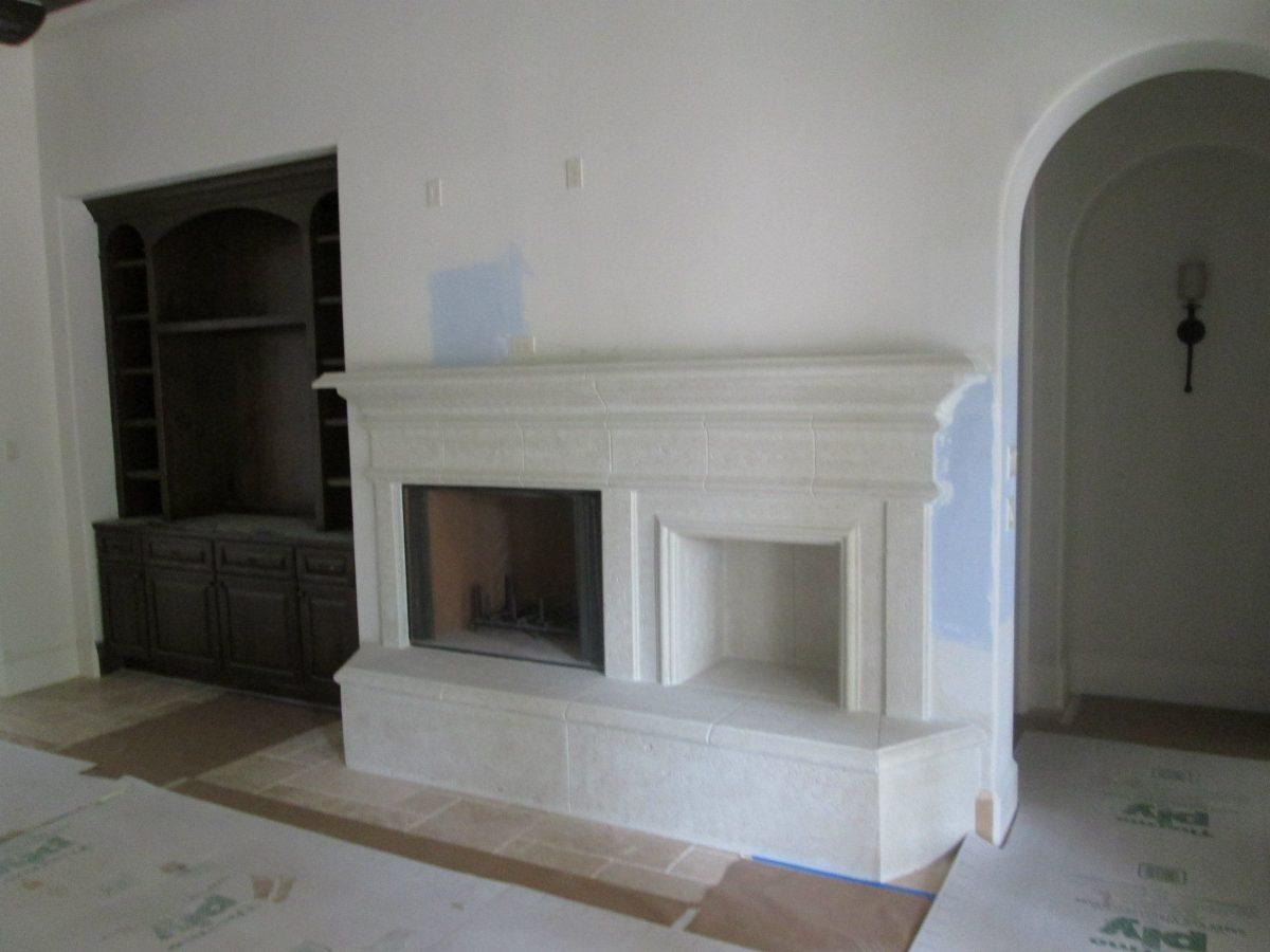 before you build cast fire places