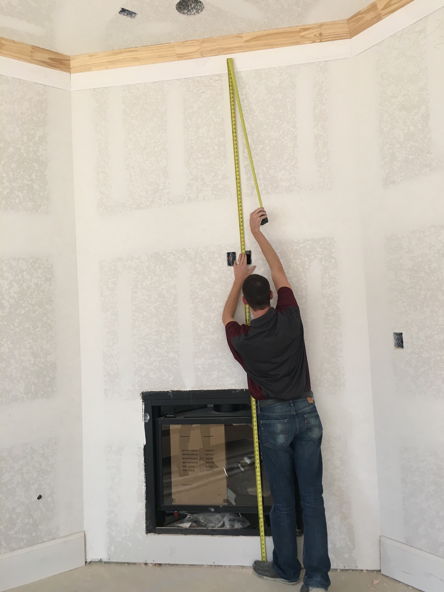 how to measure for a fireplace surround cast fire places